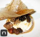 Kulinarische Impressionen aus dem El Poblet - Büffelmozzarella mit Pilzen und Trüffel