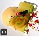 Kulinarische Impressionen aus dem El Poblet - Apfel in Texturas mit Stevia