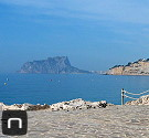 Strandpromenade von Moraira