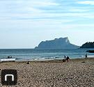 Strand von Moraira