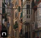 Bunte Gassen in der Altstadt von Palma