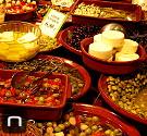 Eingelegtes Gemüse im Mercat Olivar