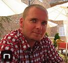 im Garten des Bistro 33 im Read's Hotel