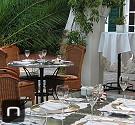 gedeckter Tisch in der Casa Carolina